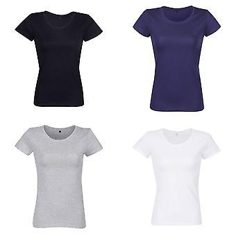 RTP Apparel Womens/Ladies Organic Short-Sleeved T-Shirt