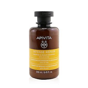 Apivita Intense Repair Nourish & Repair Shampoo (Olive & Honey) 250ml/8.45oz