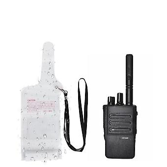 Portable Waterproof, Case Pouch Cover With Lanyard For Two-way, Radio Walkie