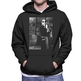 The Invisible Man Terrorising The Village Men's Hooded Sweatshirt