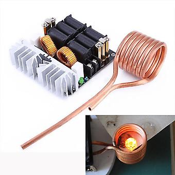 1000w Diy Low Voltage Induction Heating Module And Brass Coil