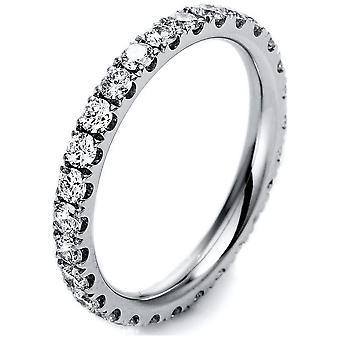 Luna Creation Infinity Ring Memoire Full 1M045W854-1 - Ring Width: 54
