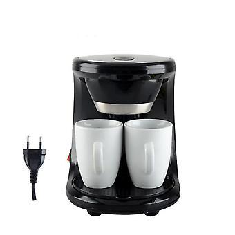 Elektrisch schuim koffiezetapparaat machine met bonenmolen en melkopschuimer