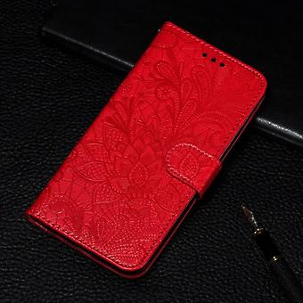 Floral Book Style Flip Leather Case