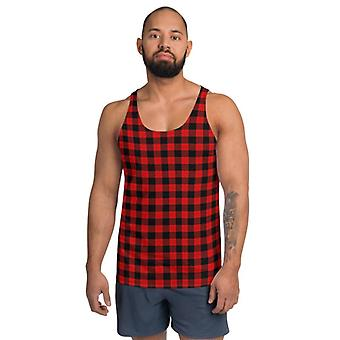 Miehet's Buffalo Plaid Tank Top