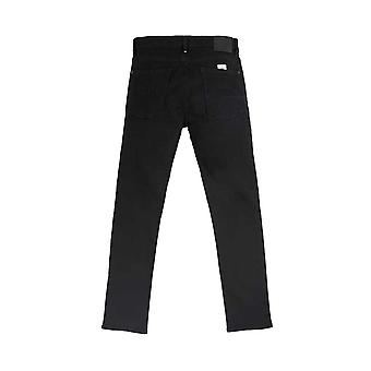 Pretty Green Erwood Slim Fit Jeans - Black Rinse