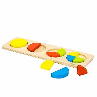 "Alatoys Wooden  Puzzles ""Fractions-circles"""