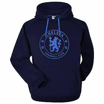 Chelsea FC Unisex Erwachsene Wappen Hoodie