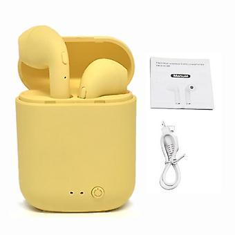 Mini Wireless Earphones, Bluetooth Matte Earbuds Headset