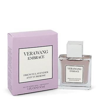 Vera Wang omarmen Franse lavendel en tuberose Eau de toilette spray door Vera Wang 1 oz Eau de toilette spray