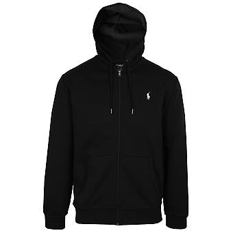 Ralph lauren men's black core replen zipped hoody
