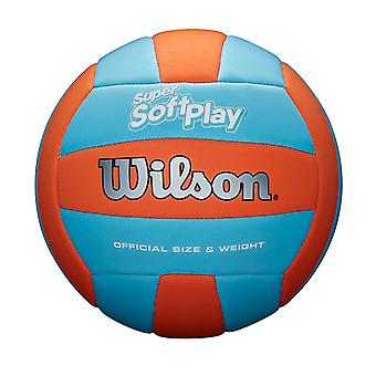 Wilson Super Soft Play Volleybal Oranje/Blauw