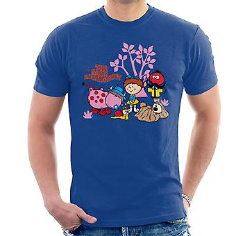 The Magic Roundabout Retro Cartoon Style Men's T-Shirt