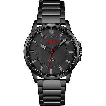 HUGO 1530187 First Black Stainless Steel Mens Watch