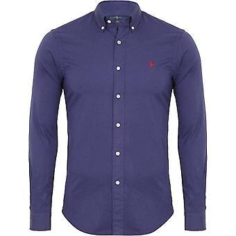Ralph Lauren Shirt Men's Navy Feather Weight Twill
