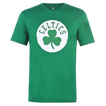 NBA Mens Logo T-Shirt Short Sleeve Crew Neck 100% Cotton Casual Sports Tee Top