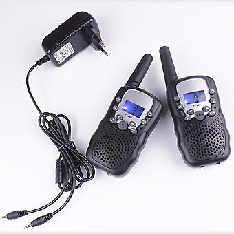 T388 Pmr446 Walkie Talkies Mobile Radio Communicator Vox Frs/gmrs Led