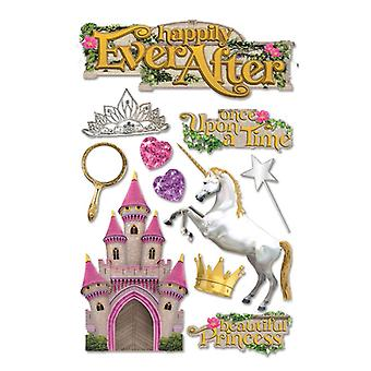 Paper House Productions - 3D Stickers - Happily Ever After