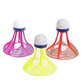 3pcs/pack Neue Original Air Shuttle Outdoor Badminton Air Shuttle Kunststoff Ball