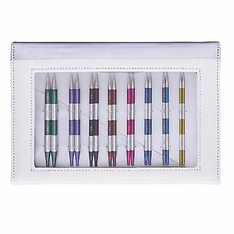 KnitPro Smart Stix: Knitting Pins: Interchangeable: Deluxe: Set of 8 and Accessories