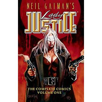 Neil Gaiman's Lady Justice 1