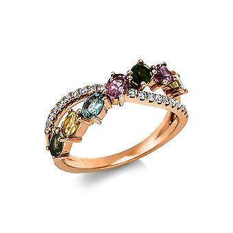 Luna Creación Promessa Anillo Color Piedra 1V537R853-1 - Ancho del anillo: 53