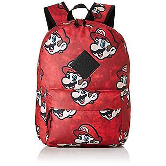 Nintendo Super Mario Bros. Bros. Sublimation Backpack, Multi-colour (BP130733NTN) Casual Backpack, 28 cm, 20 liters, Multicolor Ref. 8718526091052
