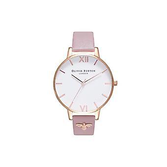 Olivia Burton Japanese Quartz Watch with OB16ES15 Plastic Strap