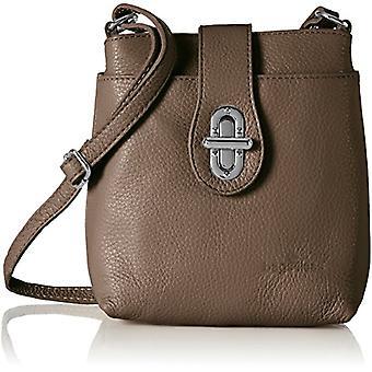 Bags4Less Rania - Women's Crossbody Bags, Braun (Taupe), 8x21x20 cm (B x H T)