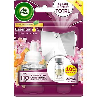 Air Wick Summer Delights Electric Air Freshener Appliance and replacement
