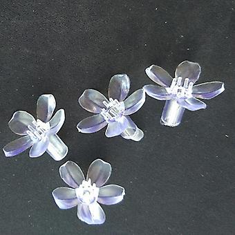 Pehmeä muovi läpinäkyvä kirsikankukka koristeluun Valo