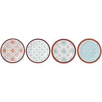 Ladelle Amore Capri Plate Set of 4