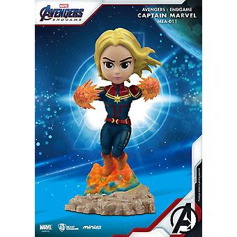 Kostajat: Endgame Mini Egg Attack Figure Captain Marvel 10 cm