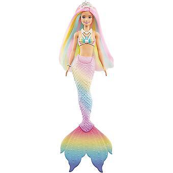 Barbie Dreamtopia Farveændring Havfrue Dukke
