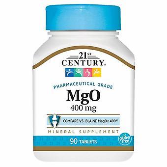 21st Århundre Magnesiumoksid, 400 mg, 90 Faner