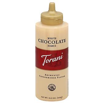 Torani Puremade Hvid Choc Sauce, tilfælde af 4 X 16,5 Oz
