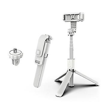 Extendable Selfie Stick Tripod£¬Bluetooth Wireless Remote For Cell Phone(White)