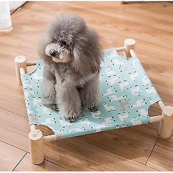 Detachable Elevated Dog Bed No-slip Cool Breathable Durable(Triangle)