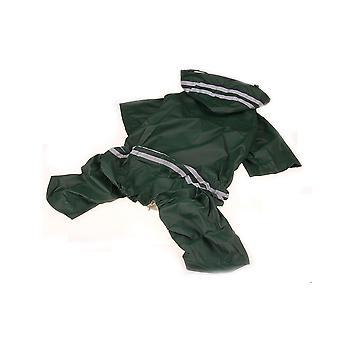 Animal de compagnie chien imperméable à capuche imperméable imperméable vêtements de chien vêtements réfléchissants sécurité animal imperméable imperméable imperméable pour petits chiens manteau de pluie