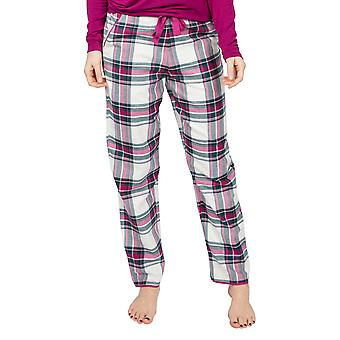 Cyberjammies Penny 4937 Women's White Check Cotton Pyjama Pant