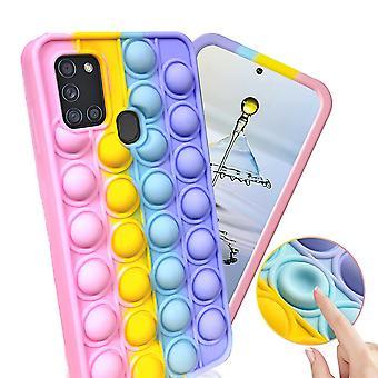 Samsung Galaxy A21s - Shell / Beskyttelse / Pop It Fidget