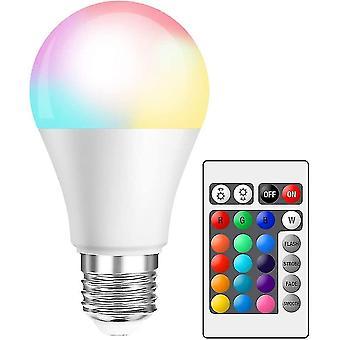 10w E27 Светодиодная затемняемая лампа Rgbw