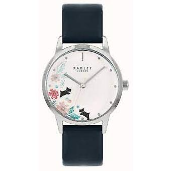 Radley Ry21229a White Dial Leather Strap Watch For Ladies