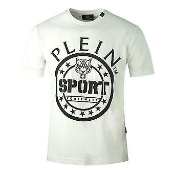 Philipp Plein Sport Circle Logo White T-Shirt