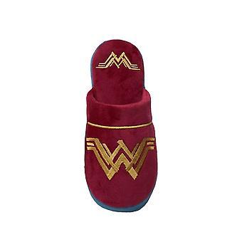 Wonder Woman Womens/Ladies Logo Slippers
