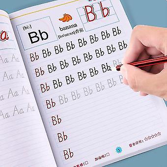 Livre d'exercices d'écriture en anglais pour les enfants de la maternelle