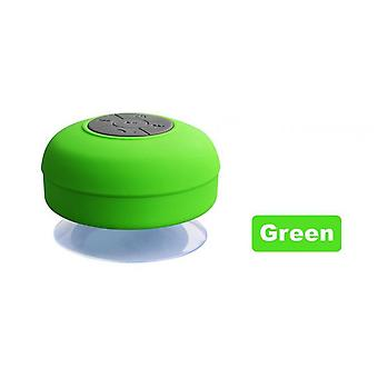 Waterproof Wireless Blue Tooth Shower Speaker Subwoofer Car Hands-free Call Music Suction Mic For All Mobile Phone