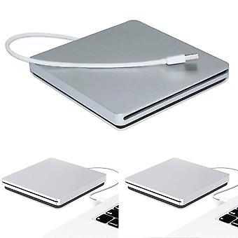 Apple Pro Air MAC PC מחשב נייד Macbook USB חריץ חיצוני בצורב CD /DVD כונן
