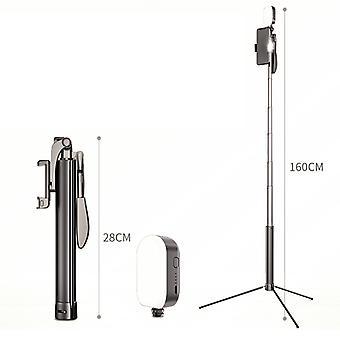 A21mobile Telefon Bluetooth Selfie Stick Fyllningslampa