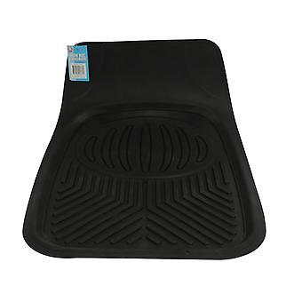 Auto Schnee Mat schwarz Gummi Mud Dirt Floor Protector 70x50cm